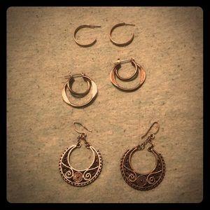 Jewelry - Bundle: Hoops and Loops Earrings🥁